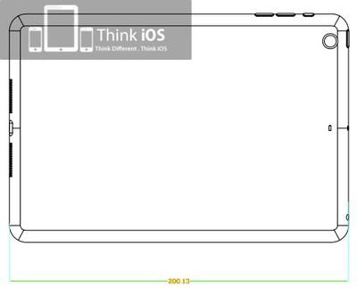 thinkios ipad mini drawing rear