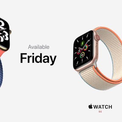 apple watch series 6 orders