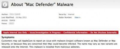 macdefender support note