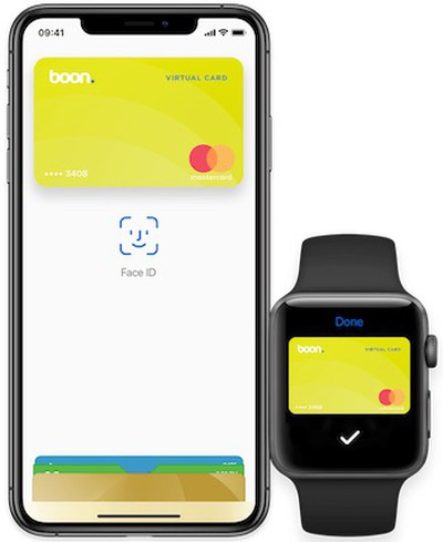 boon card apple pay