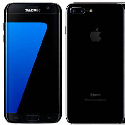 galaxy s7 edge iphone 7 plus
