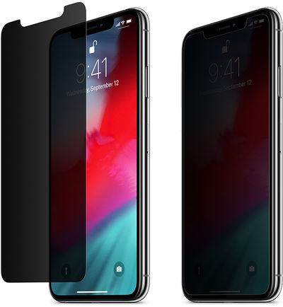 belkin privacy screen protector iphone xs max