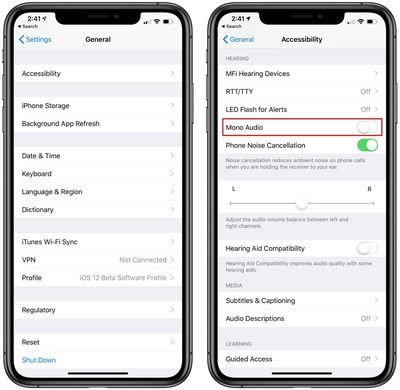Powerbeats pro mono audio settings for sharing earbuds
