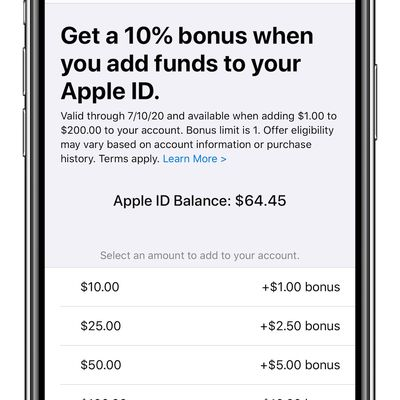 apple id bonus jun2020