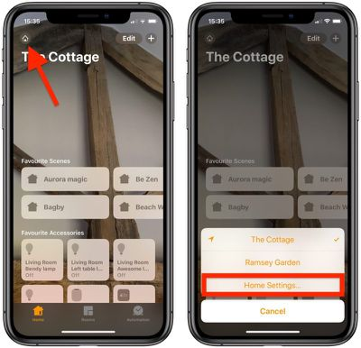 how to remove a second home apple homekit 2