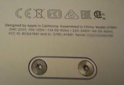 new mac pro assembled in china label