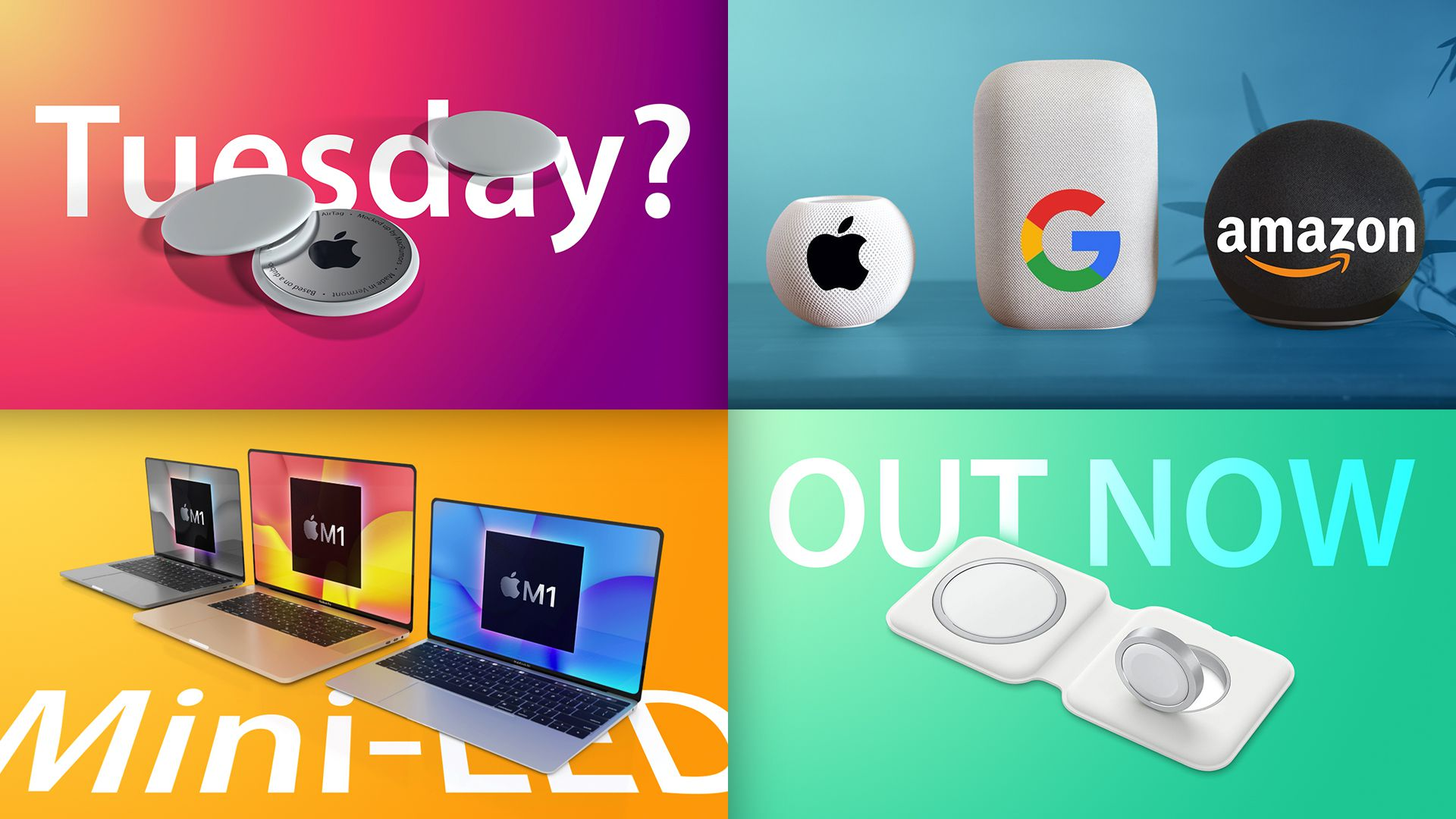 photo of Top Stories: Redesigned MacBook Pro in 2021, MagSafe Duo Released, HomePod Mini vs. Competition image