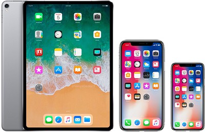 face id ipad iphone