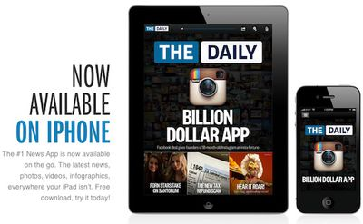 the daily ipad iphone