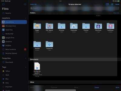 files app ipados 15