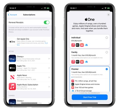 Apple One all-in-one subscription service launches Friday