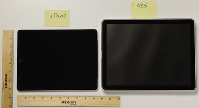 ipad prototype comparison front