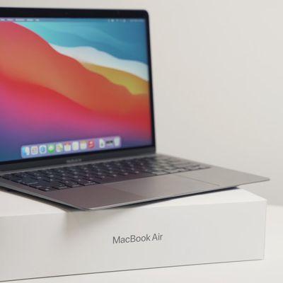 macbook air m1 unboxing