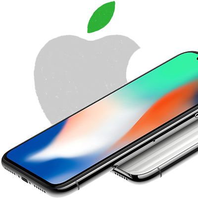 iphone x environmental report