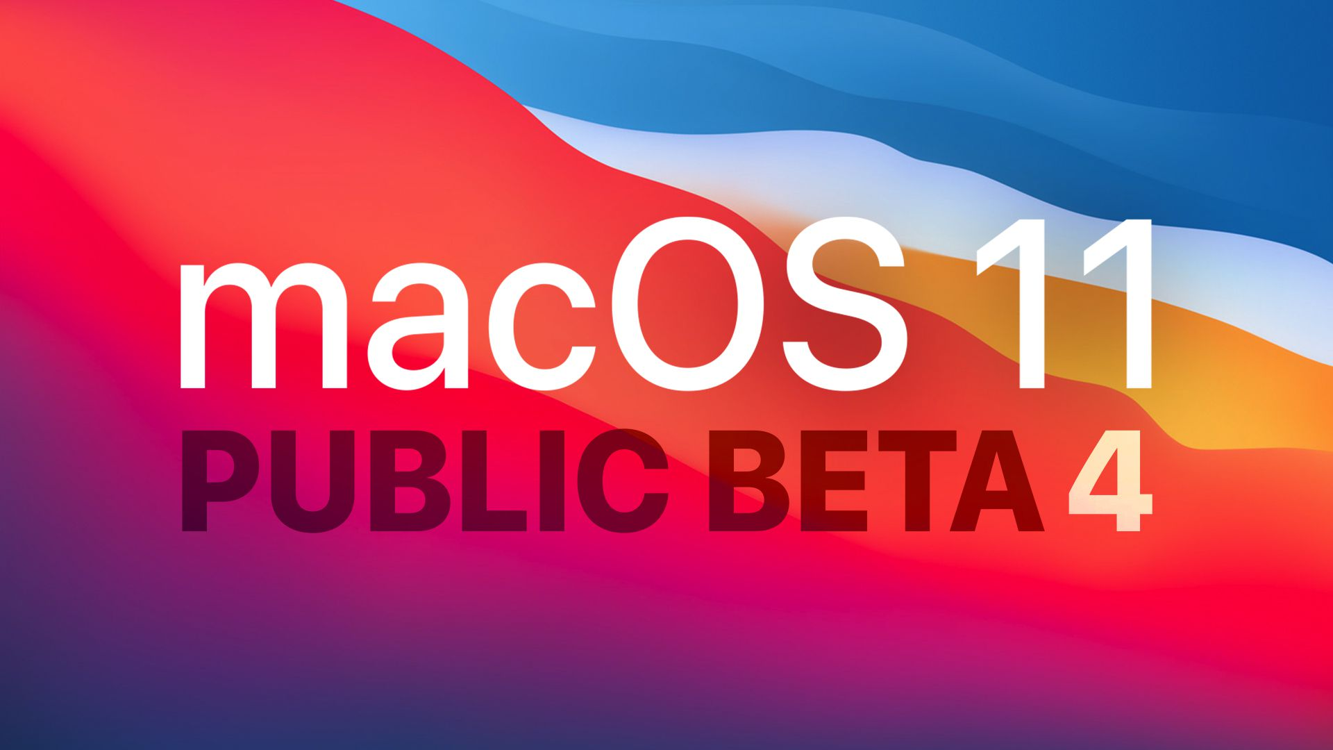 photo of Apple Seeds New Public Beta of macOS Big Sur to Public Beta Testers image