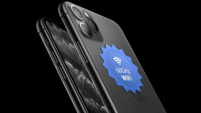 iPhone 2020 60ghz WiFi