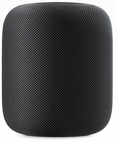 apple homepod space gray