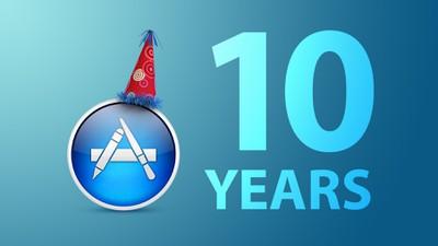 mac app store 10 years