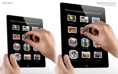 iPad Mini comparison t