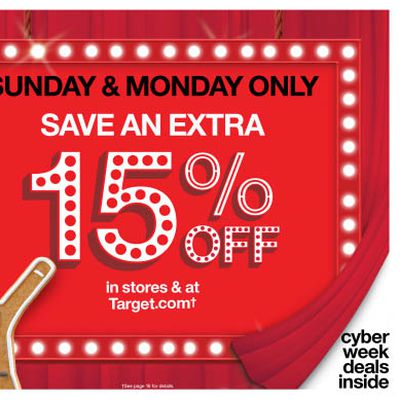target cyber monday 2016