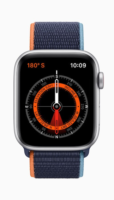 apple watch se compass