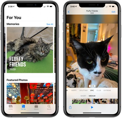 ios14memories - iOS 14 Photographs and Digicam: QuickTake Shortcut, Photograph Captions, Mirrored Selfies, and Extra