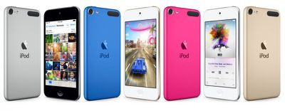 ipod touch 6 lineup