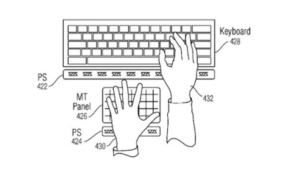 Apple hover-sensing patent