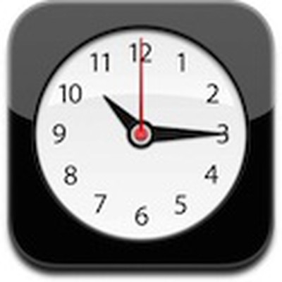 093441 ios clock icon