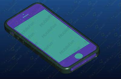 iphone 2012 case render