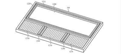 localized haptics patent under surface