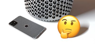 Cheesegrater iPhone and Trashcan Pro 2