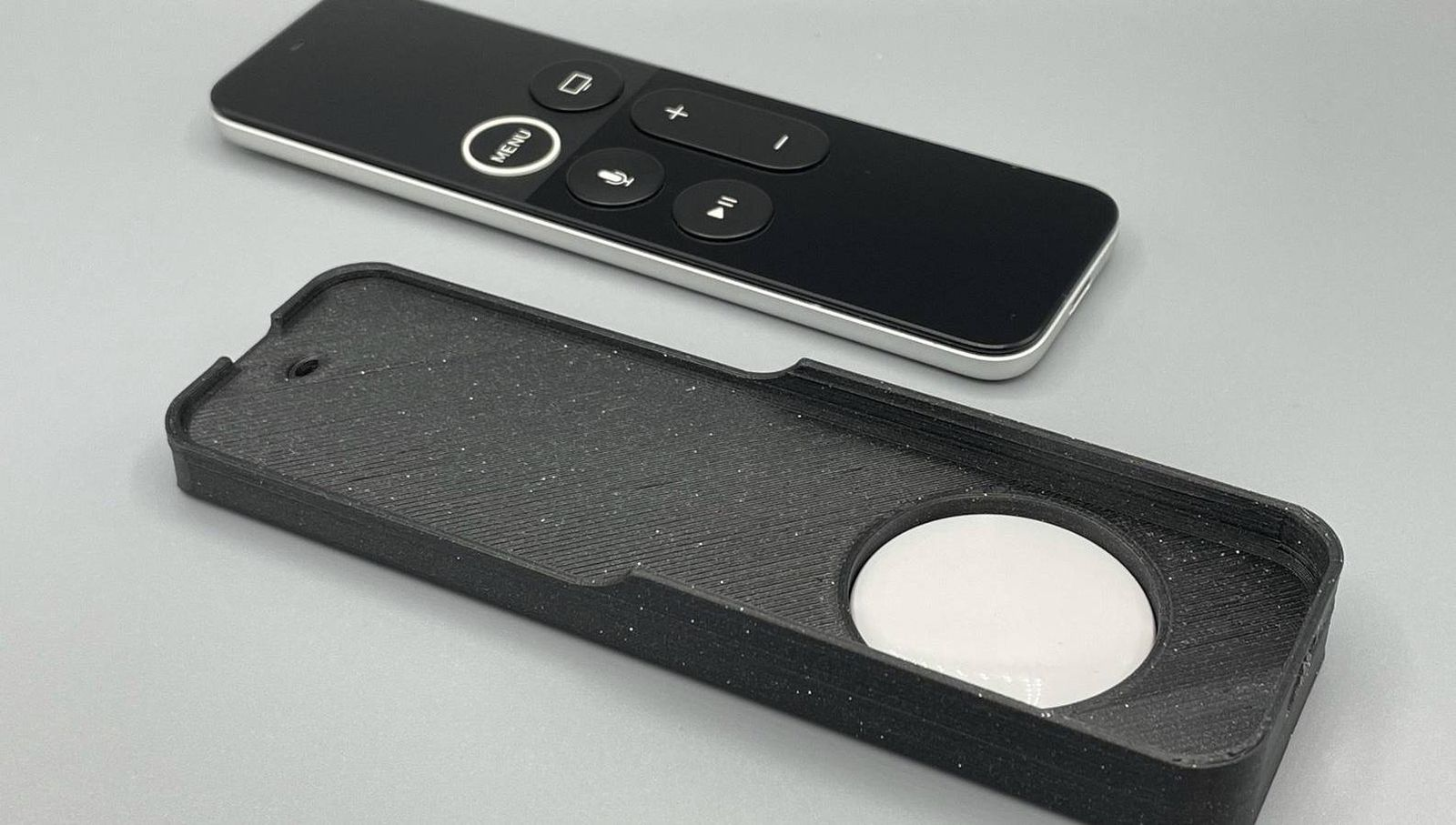 3D-Printed Case Lets You Attach an AirTag to Your Apple TV Remote