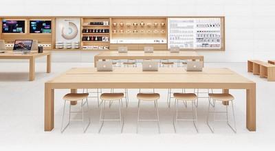 apple store inside