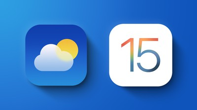 iOS 15 Weather Feature