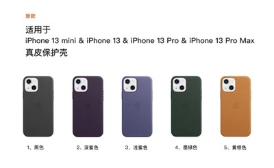 iphone 13 leather