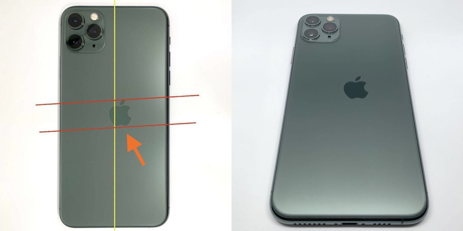 photo of Images Depict 'Extremely Rare' iPhone 11 Pro Prototype With Misaligned Apple Logo image