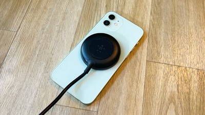 belkin magnetic charger iphone 12