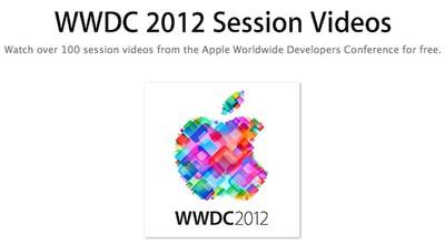 wwdc 2012 session videos