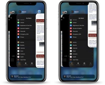 closing apps on iPhone