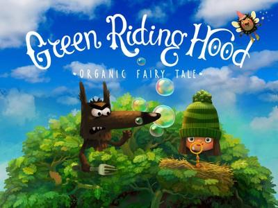 green riding hood 1
