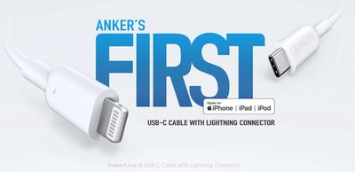 anker usb c to lightning cable