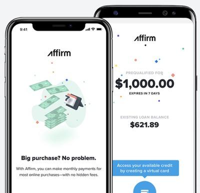 affirm mobile app