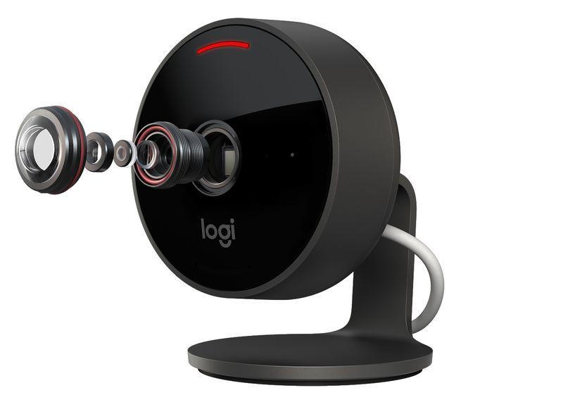 A nova câmara da Logitech conta com suporte ao HomeKit da Apple.