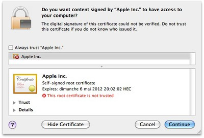 flashback g certificate