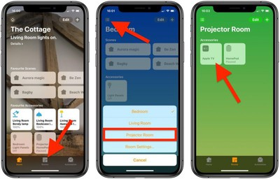 how to set homekit favorites 1