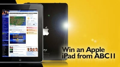 wtvd ipad sweepstakes