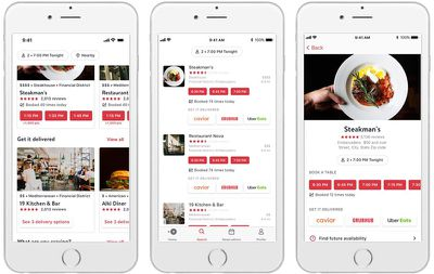 opentable delivery