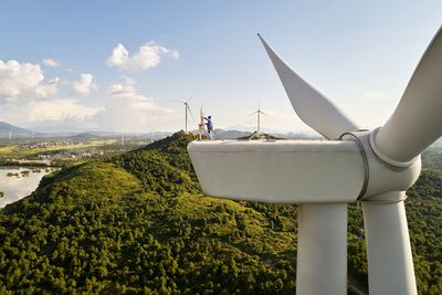 China Clean Energy Fund Wind Farms Apple