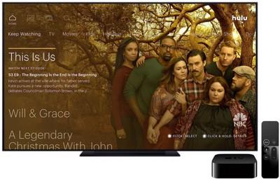 apple tv hulu image